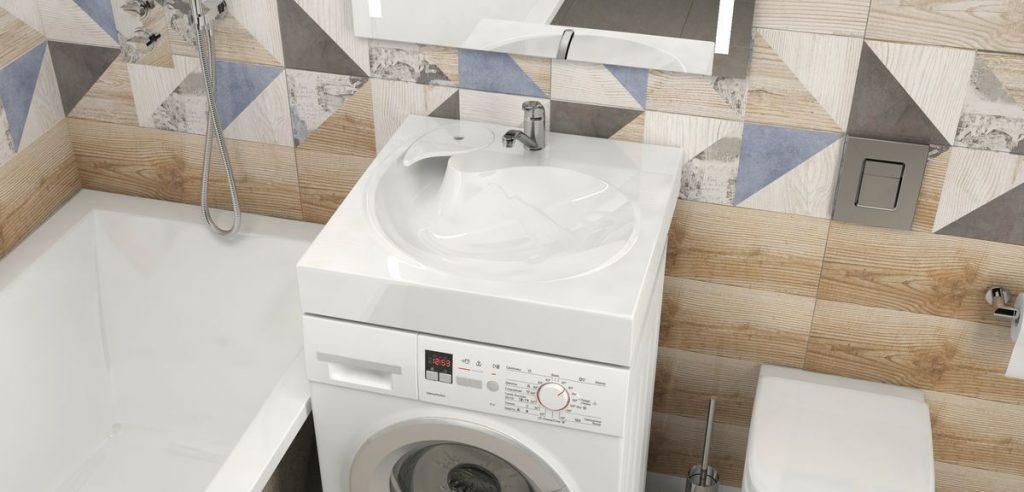 Раковина над стиральной машиной Sanrif Мурена 600х600