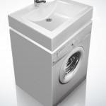 Раковина над стиральной машиной Sanrif Аква