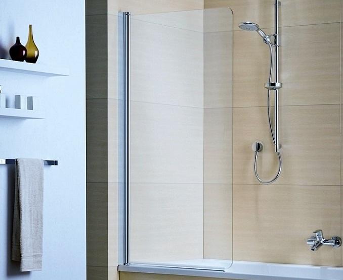 Шторка для ванной стеклянная Sanrif SR-80 800x1400